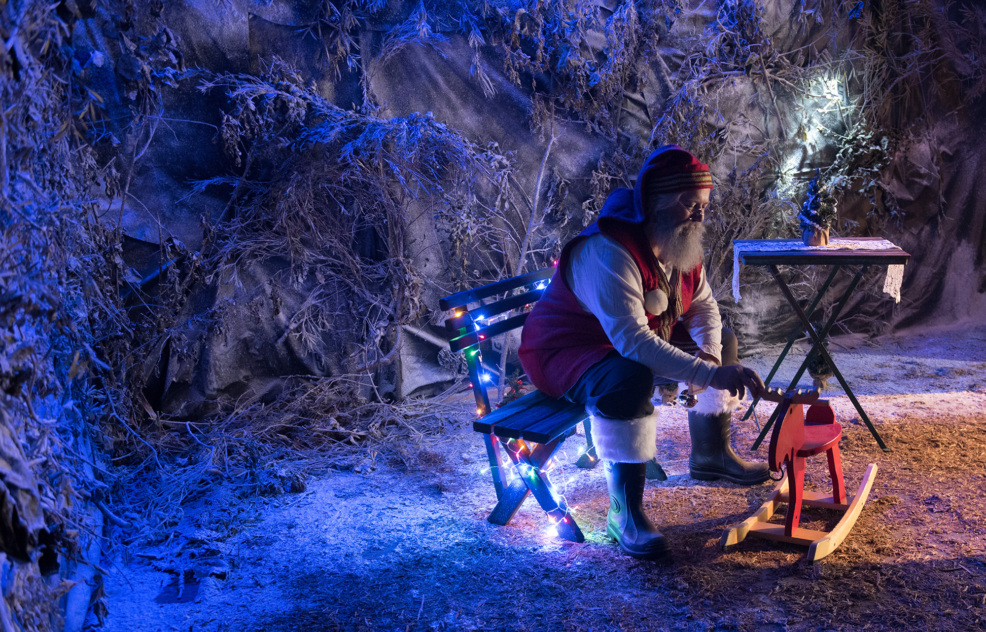 Perth Commercial and Advertising Photographers | Santa's Enchanted Wardrobe 2018