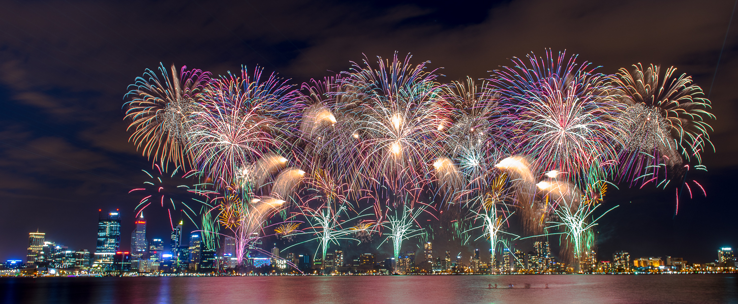 Perth Commercial Photography | Australia Day Fireworks Perth WA